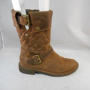 Ugg Australia Conor Oiled Leather Boots 1001832